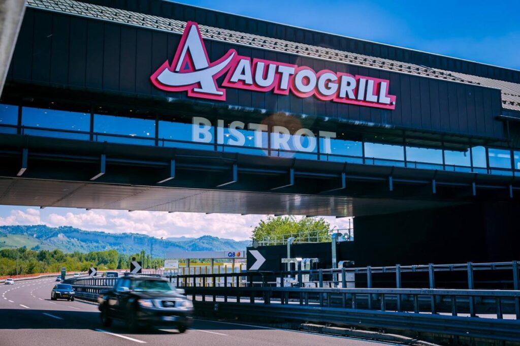 Autogrill - restauracja/bar przy włoskich autostradach