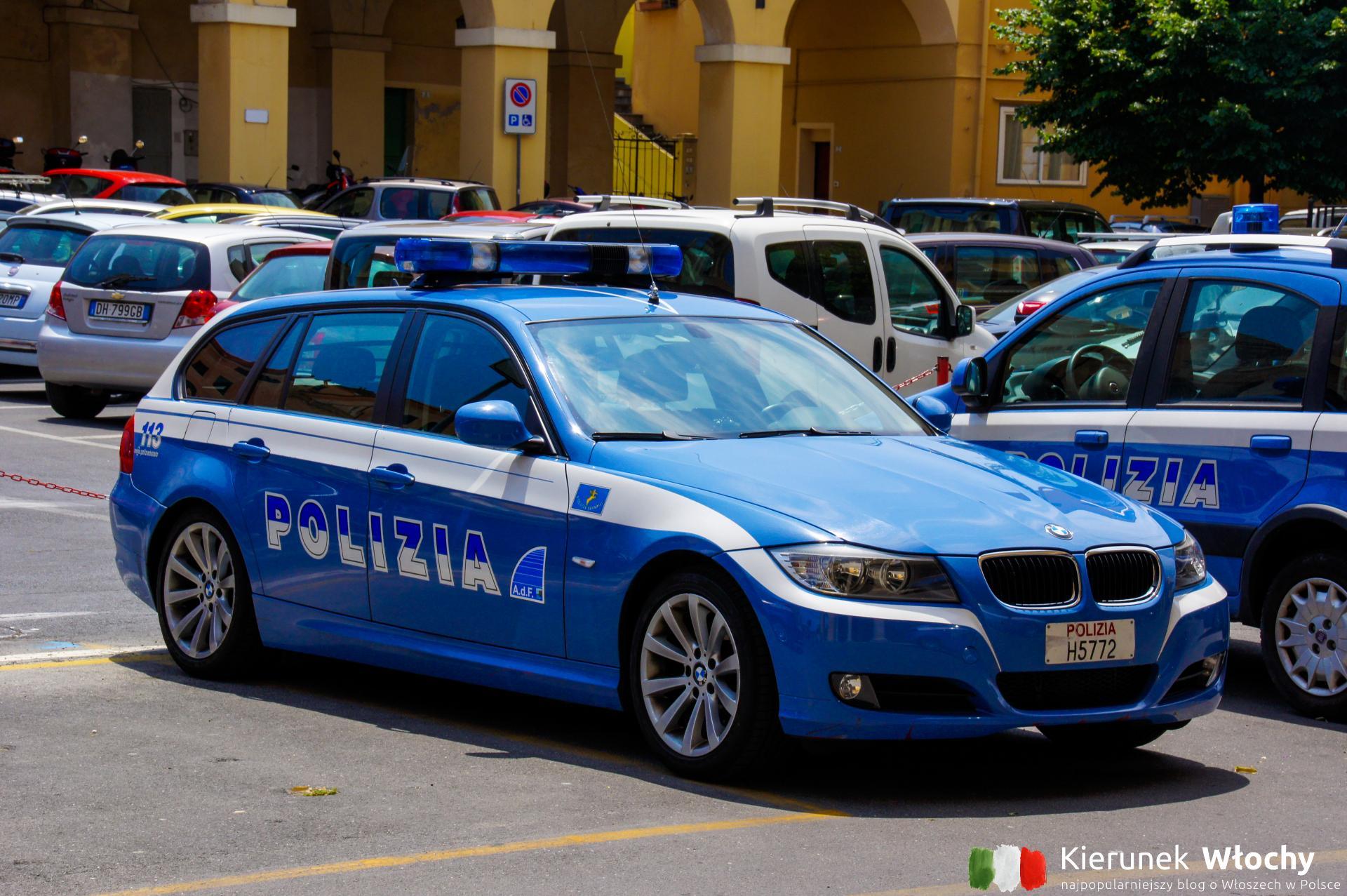 mandaty we Włoszech mogą wystawiać aż cztery służby: policja, karabinierzy, Guardia di Finanza i straż miejska (fot. Łukasz Ropczyński, kierunekwlochy.pl)