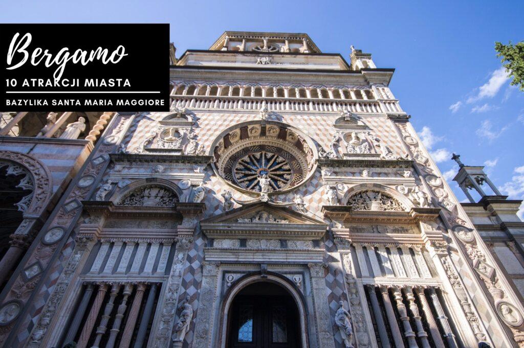 Cappella Colleoni w Bergamo, Lombardia, Włochy