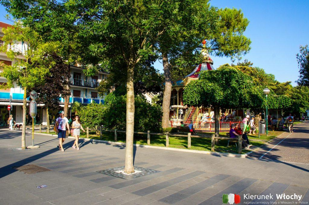 Lignano jest idealne dla rodzin z dziećmi, pełno tu placów zabaw i parków rozrywki (fot. Łukasz Ropczyński, kierunekwlochy.pl)