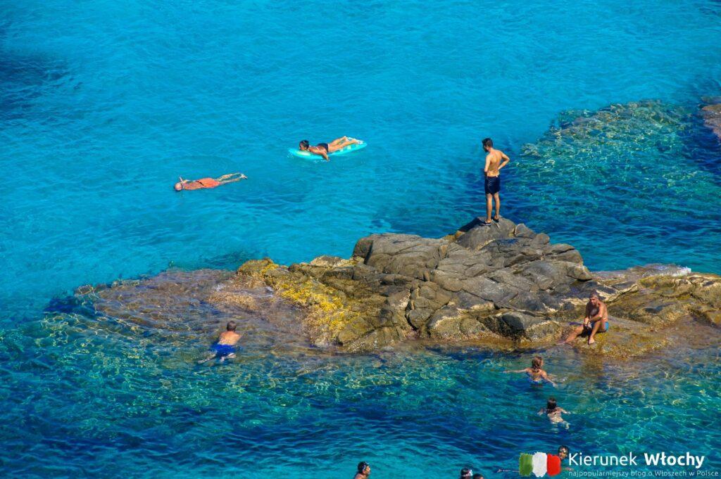 Paradiso del Sub, nazywana też Marinella di Zambrone, Kalabria, Włochy (fot. Łukasz Ropczyński, kierunekwlochy.pl)