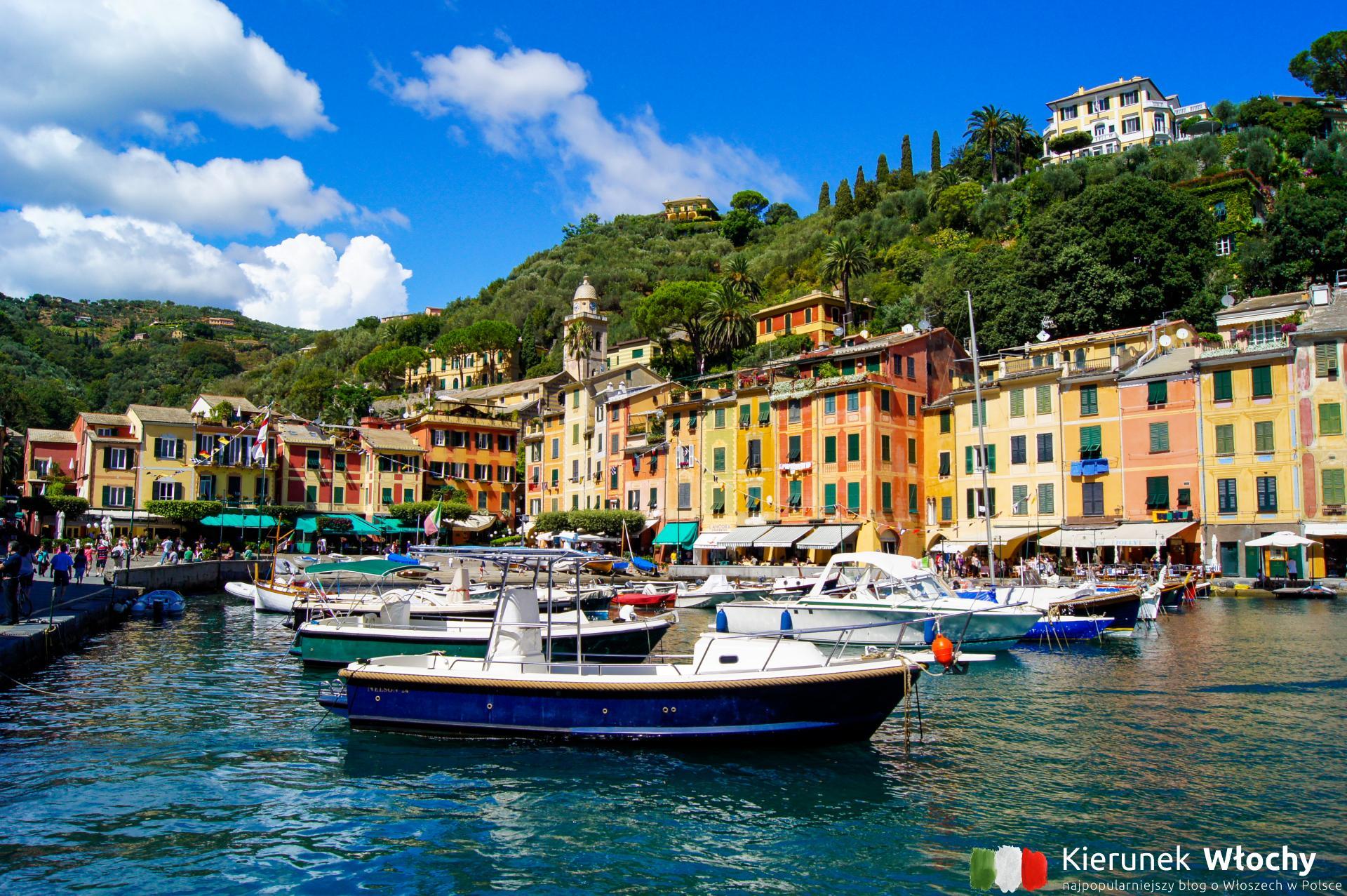 Portofino, Liguria, Włochy (fot. Łukasz Ropczyński, kierunekwlochy.pl)