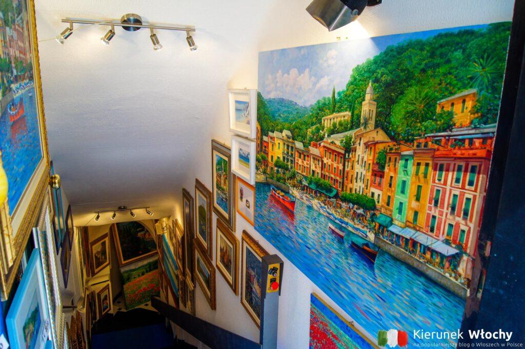 jedna z małych galerii obrazów (fot. Łukasz Ropczyński, kierunekwlochy.pl)