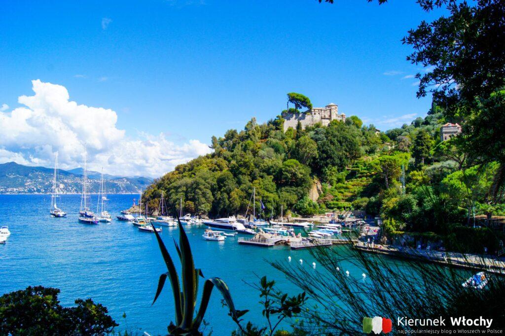 Castello Brown w Portofino, Riwiera Włoska, Liguria (fot. Łukasz Ropczyński, kierunekwlochy.pl)