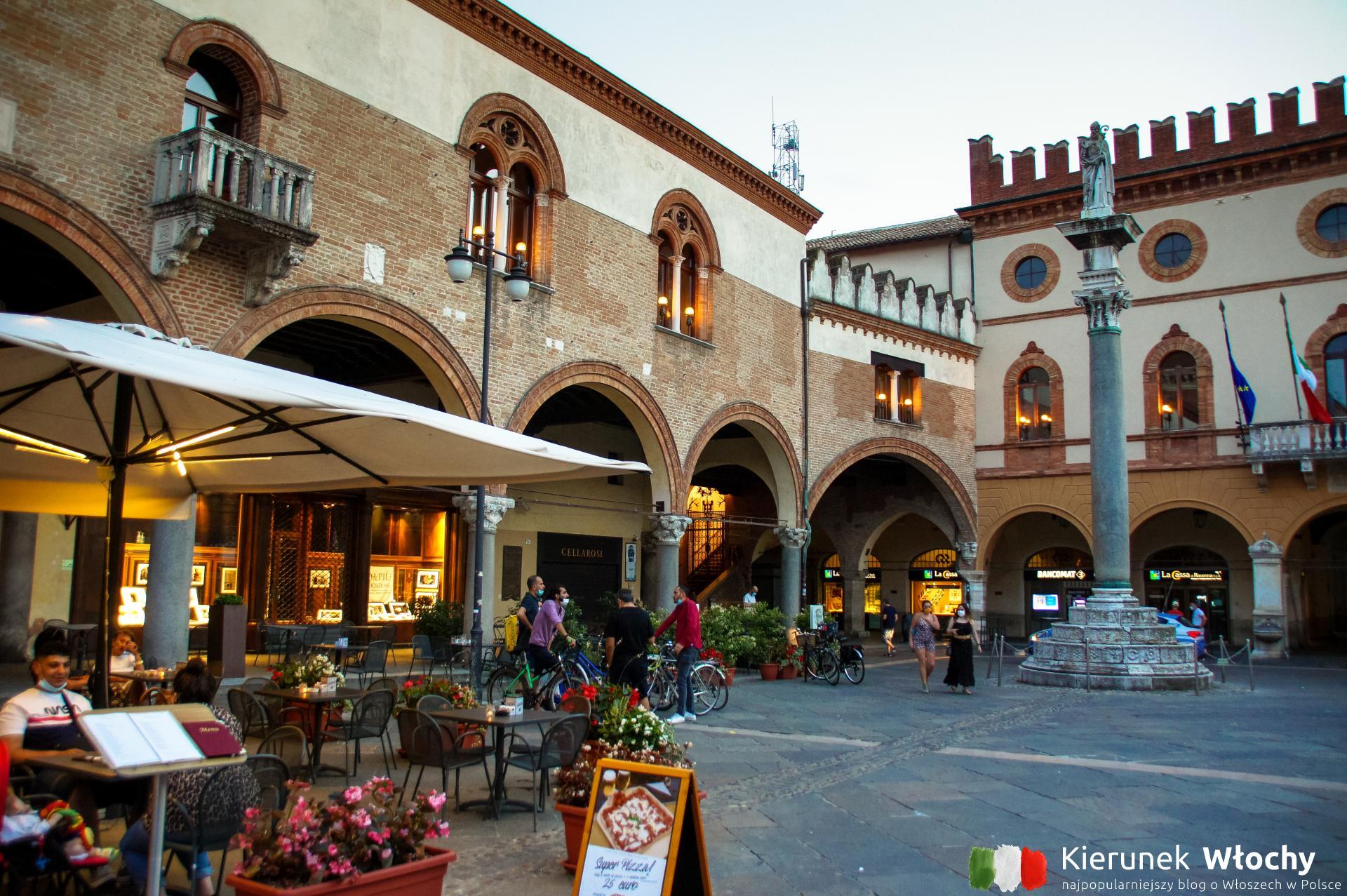 Piazza del Popolo, Rawenna, Emilia-Romagna, Włochy (fot. Łukasz Ropczyński, kierunekwlochy.pl)