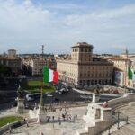 Plac Wenecki (wł. Piazza Venezia), Rzym, Włochy (fot. Ana Rey)