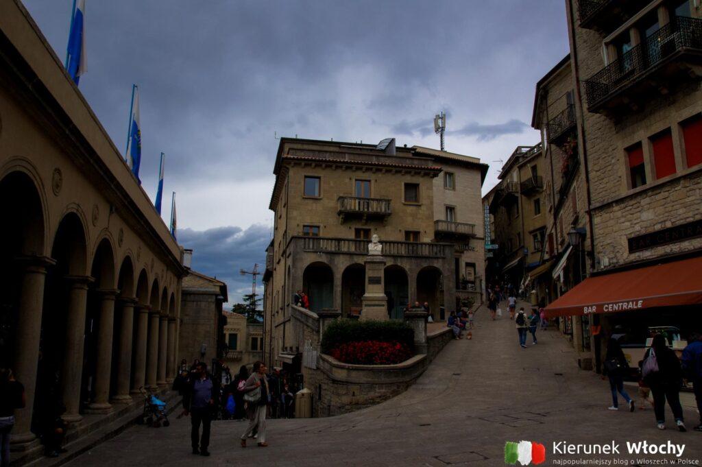 historyczne centrum San Marino (fot. Łukasz Ropczyński, kierunekwlochy.pl)