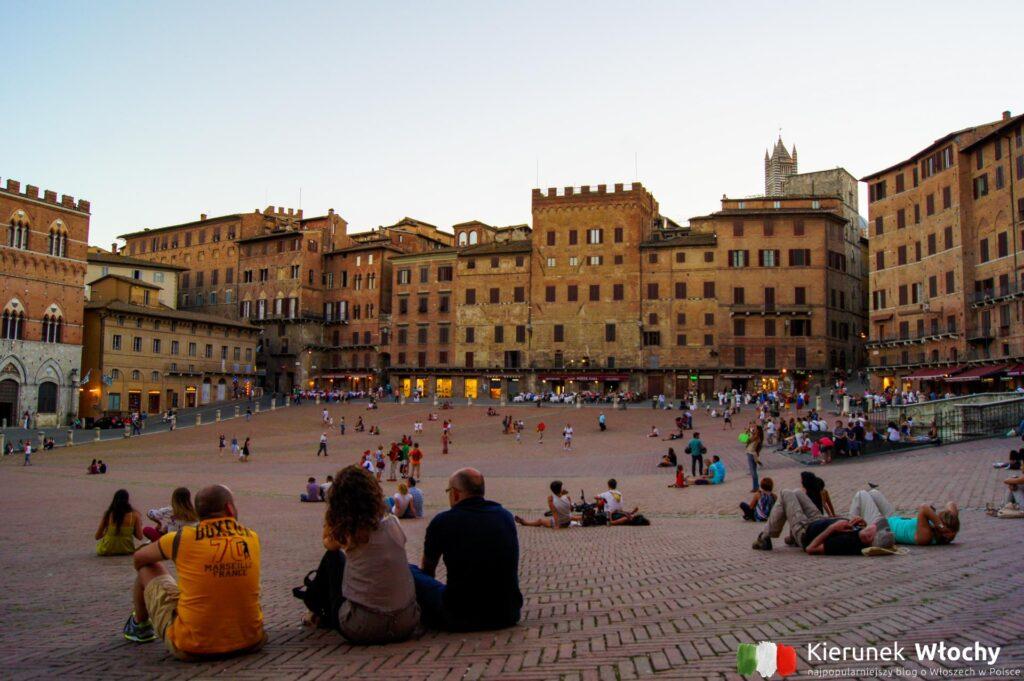Piazza del Campo w Sienie, Toskania (fot. Łukasz Ropczyński, kierunekwlochy.pl)