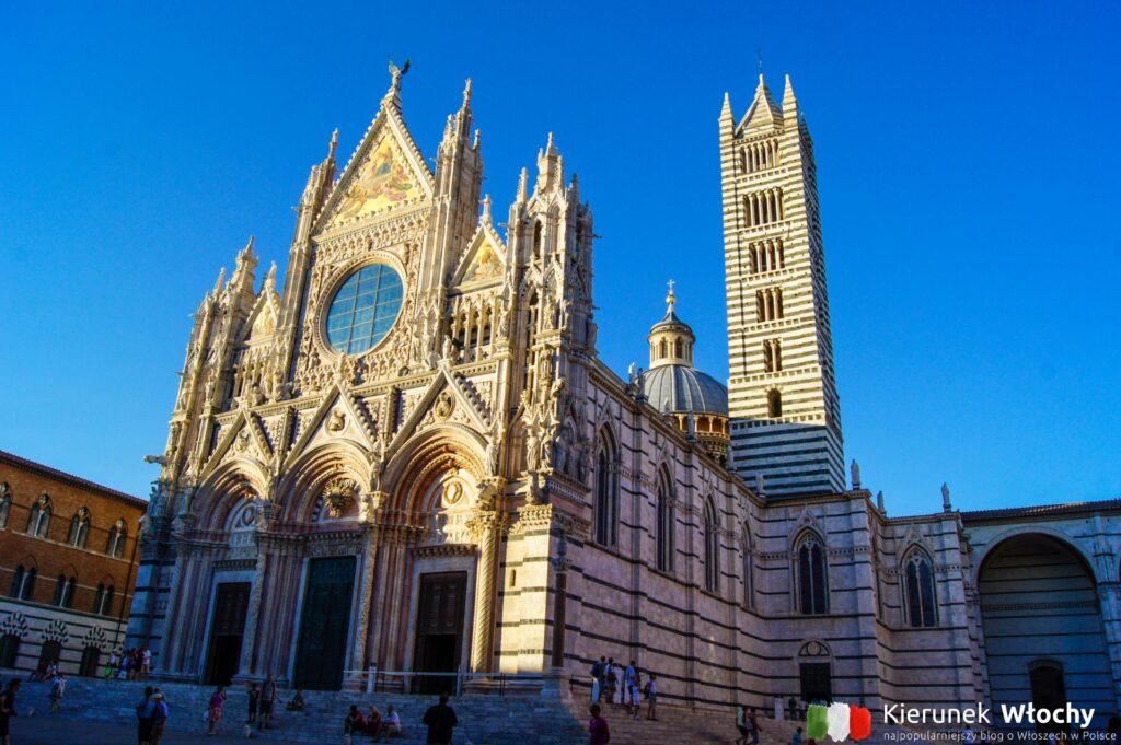 Cattedrale di Santa Maria Assunta w Sienie, Toskania, Włochy (fot. Łukasz Ropczyński, kierunekwlochy.pl)