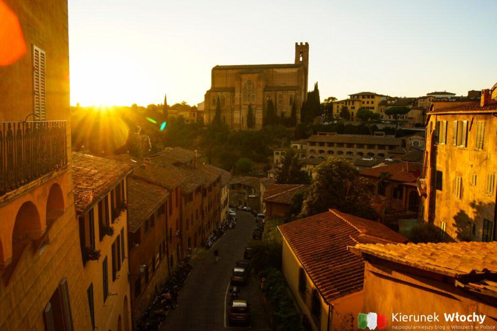 Bazylika San Domenico, Sienia, Toskania (fot. Łukasz Ropczyński, kierunekwlochy.pl)