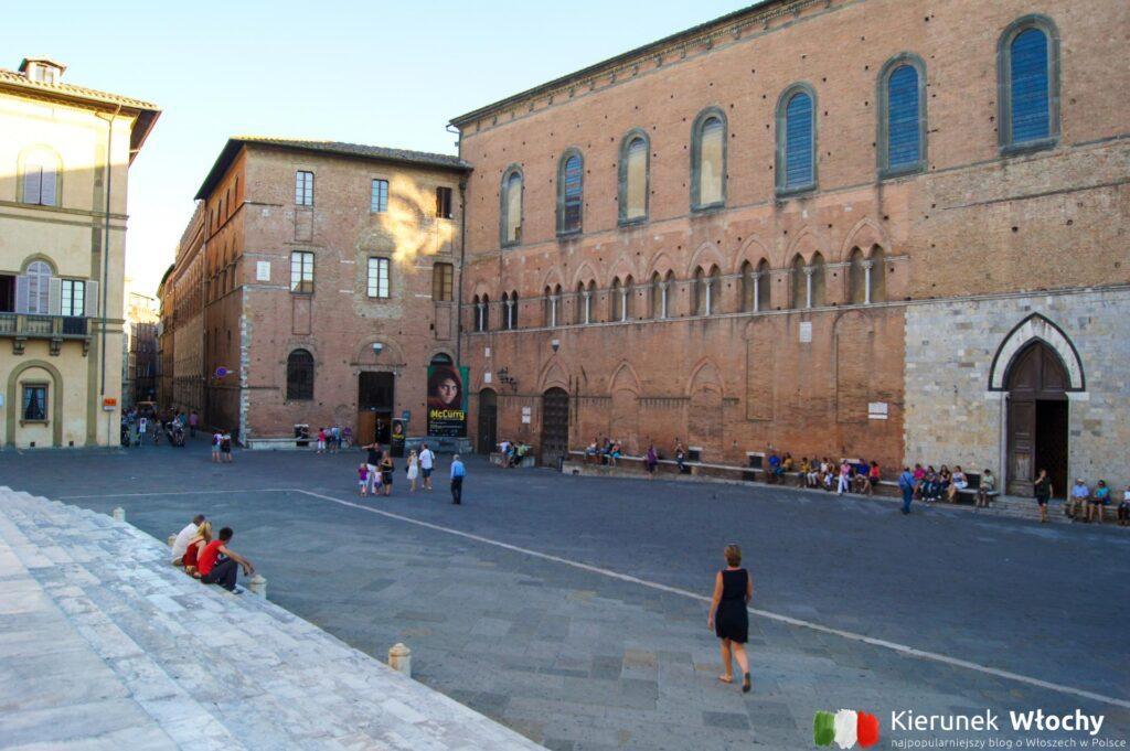 Santa Maria della Scala, Sienia, Toskania (fot. Łukasz Ropczyński, kierunekwlochy.pl)