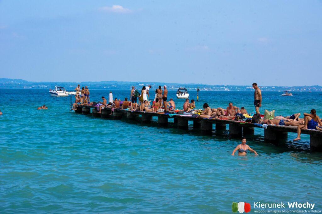 pomost przy plaży Lido delle Bionde (fot. Łukasz Ropczyński, kierunekwlochy.pl)