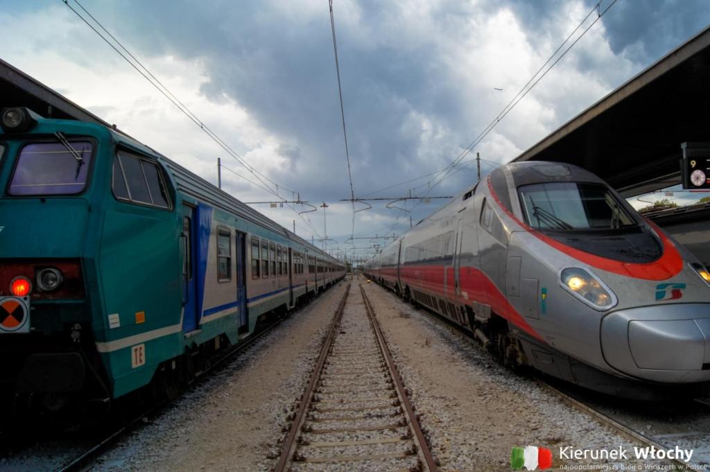 dworzec kolejowy Venezia S. Lucia. Odjeżdżają stąd zarówno pociągi regionalne, dalekobieżne jak i międzynarodowe, w tym m.in. do Paryża i do Wiednia (fot. Łukasz Ropczyński, kierunekwlochy.pl)