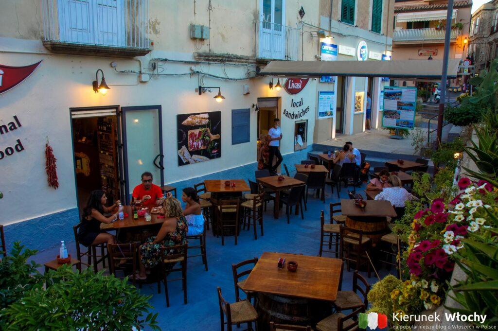 Livasì Food & Store w Tropei, Kalabria, Włochy (fot. Łukasz Ropczyński, kierunekwlochy.pl)