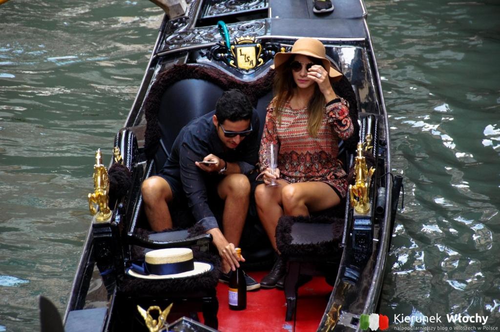gondola w Wenecji, Veneto, Włochy (fot. Łukasz Ropczyński, kierunekwlochy.pl)