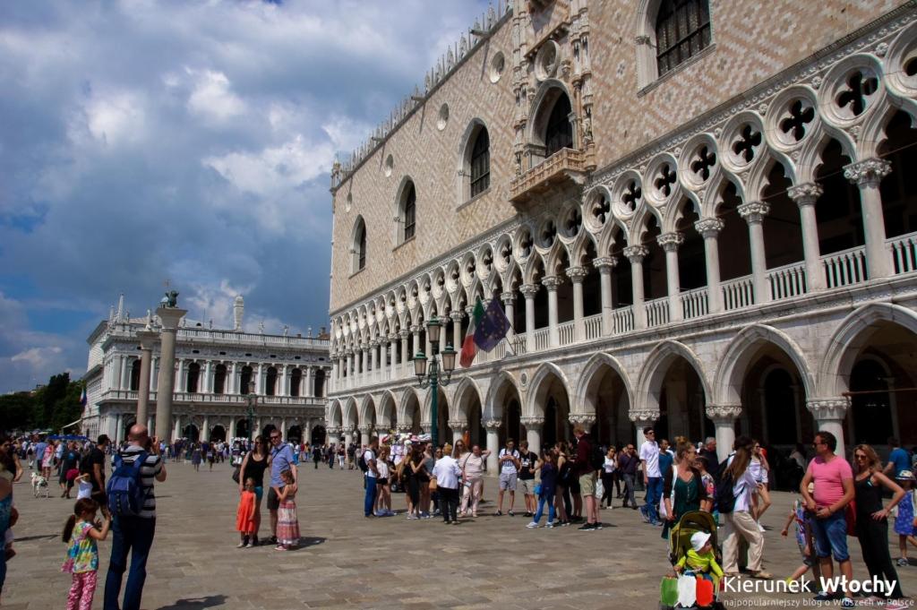 Pałac Dożów (wł. Palazzo Ducale), Wenecja, Włochy (fot. Łukasz Ropczyński, kierunekwlochy.pl)
