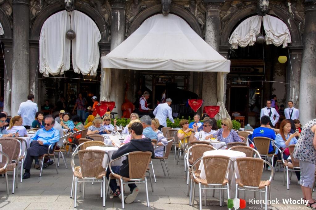 Caffè Florian przy Placu św. Marka, Wenecja, Włochy (fot. Łukasz Ropczyński, kierunekwlochy.pl)