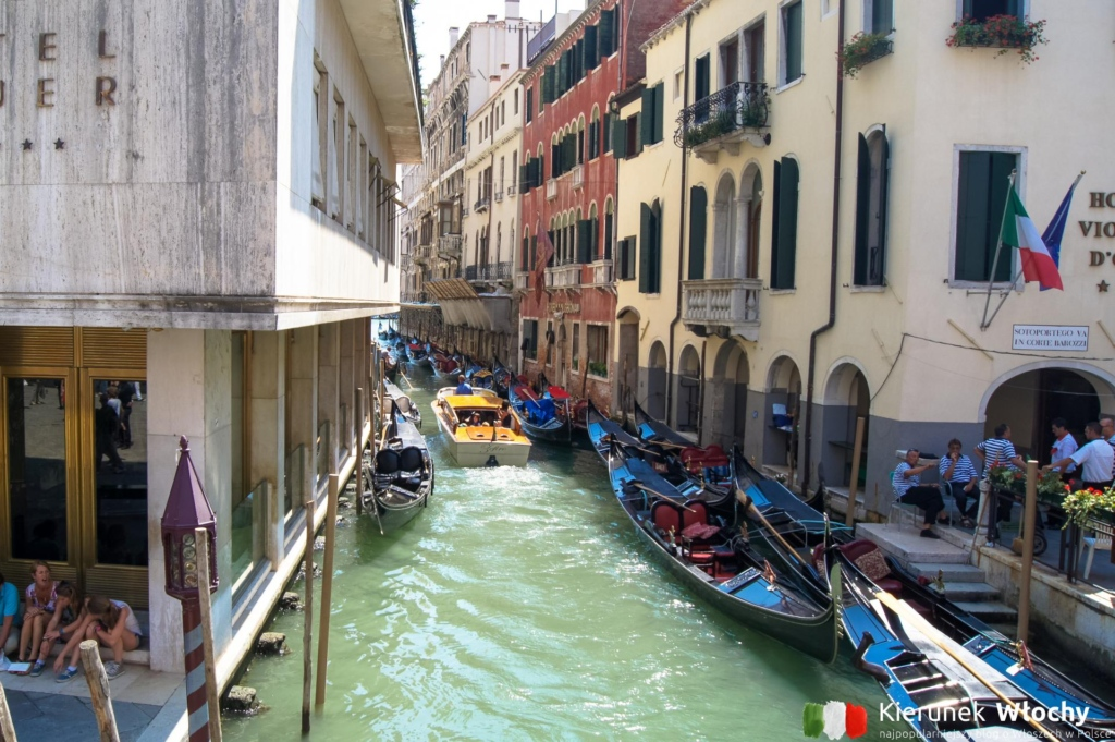 widok z Ponte Calle Larga XXII Marzo, Wenecja, Włochy (fot. Łukasz Ropczyński, kierunekwlochy.pl)