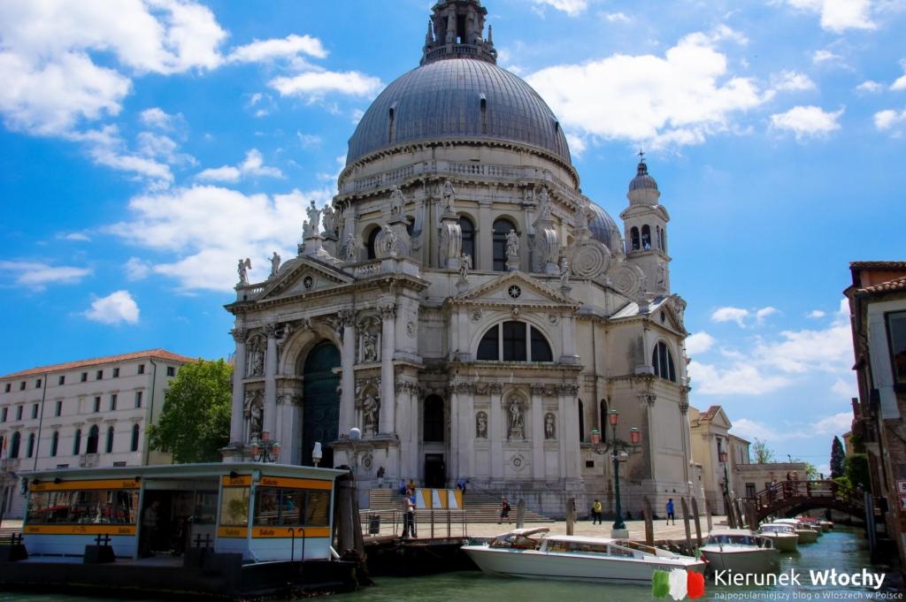 kościół Santa Maria della Salute, Wenecja, Włochy (fot. Łukasz Ropczyński, kierunekwlochy.pl)