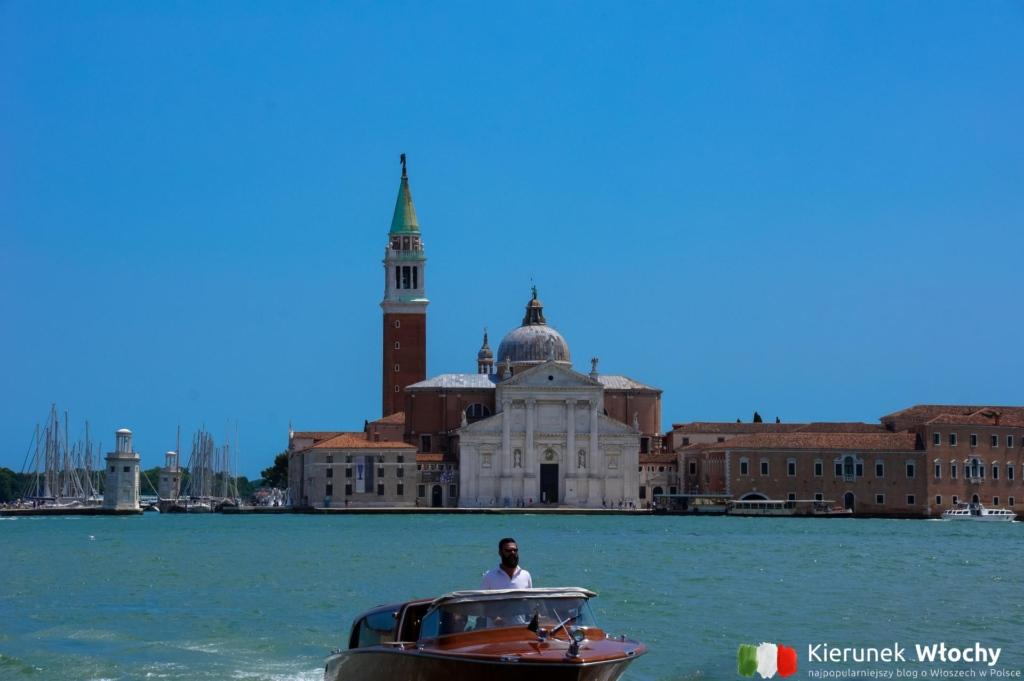 Bazylika San Giorgio Maggiore, Wenecja, Włochy (fot. Łukasz Ropczyński, kierunekwlochy.pl)