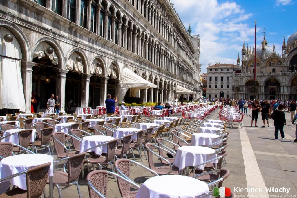 Plac św. Marka w Wenecji, Włochy (fot. Łukasz Ropczyński, kierunekwlochy.pl)