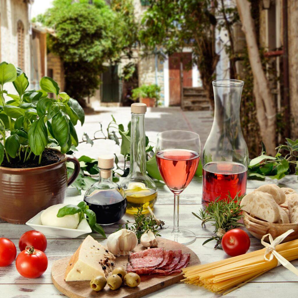 Włoskie wino