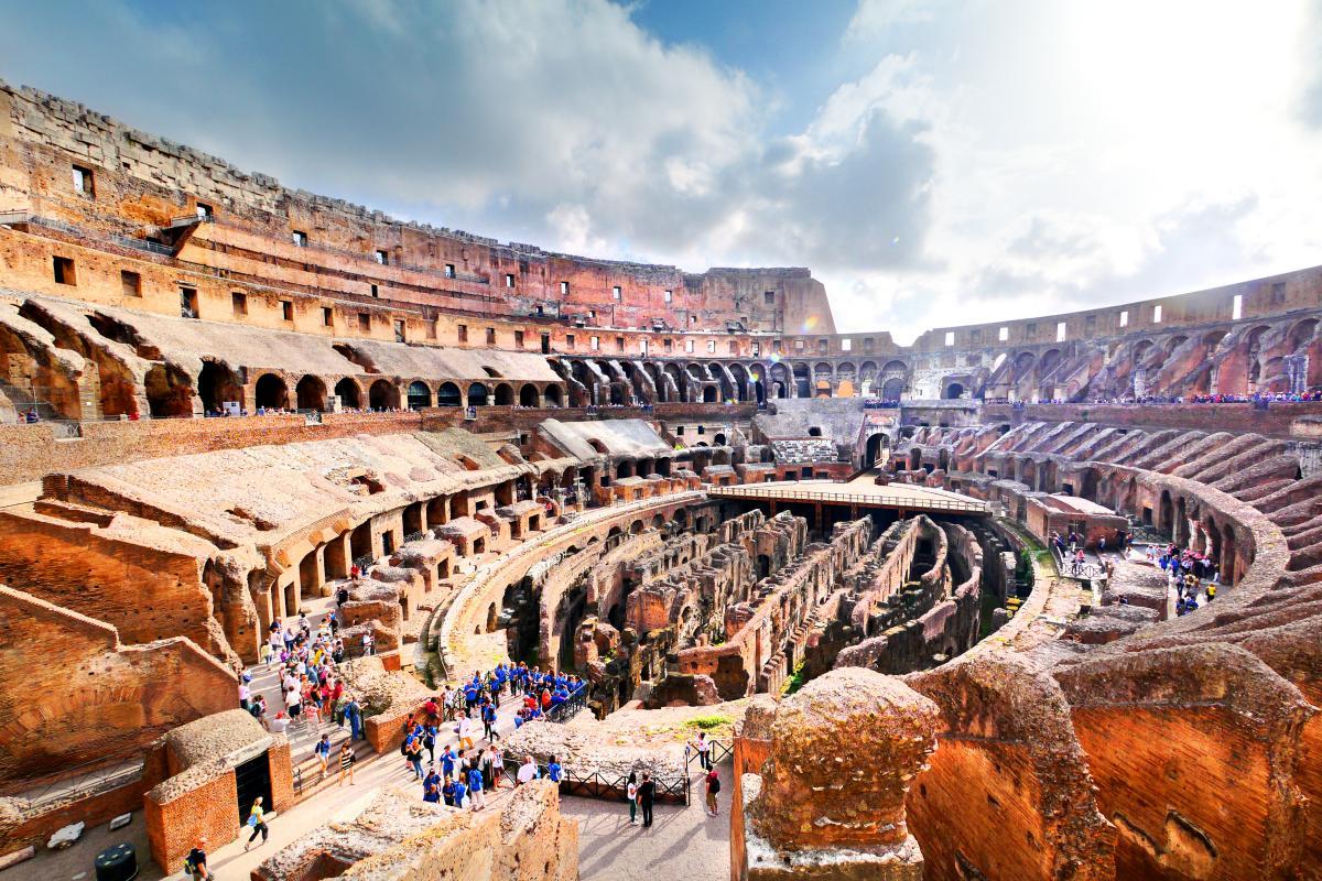 Koloseum, Rzym, Włochy (fot. visioncan)