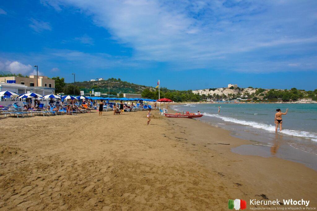 plaża San Lorenzo, Gargano, Włochy (fot. Łukasz Ropczyński, kierunekwlochy.pl)