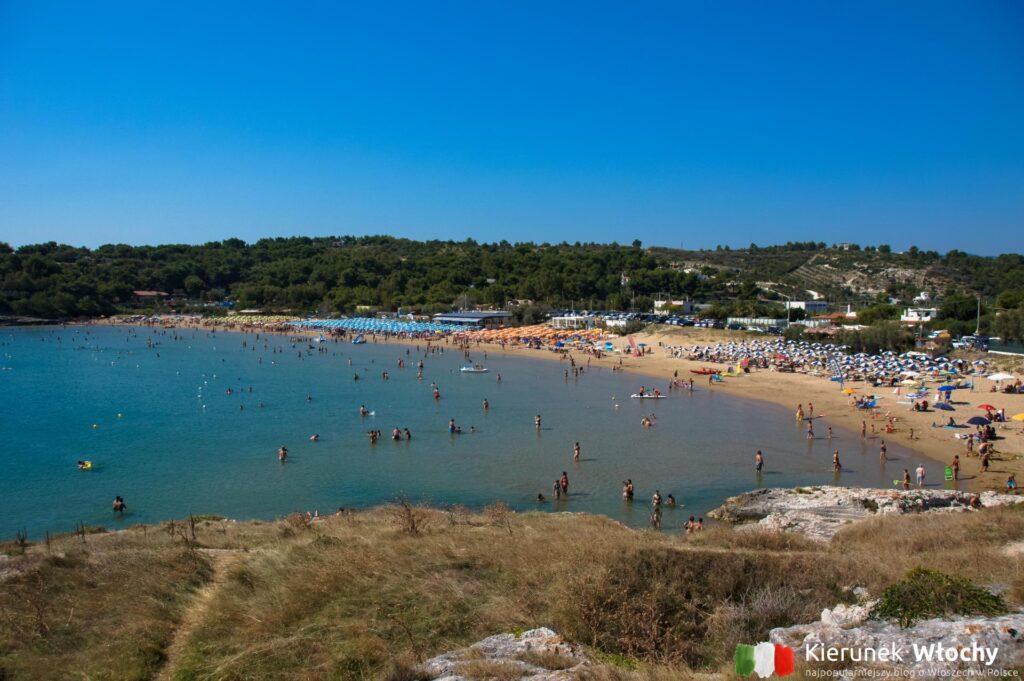 plaża Molinella, Gargano, Włochy (fot. Łukasz Ropczyński, kierunekwlochy.pl)