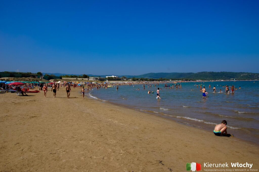 plaża Scialmarino, Gargano, Włochy (fot. Łukasz Ropczyński, kierunekwlochy.pl)