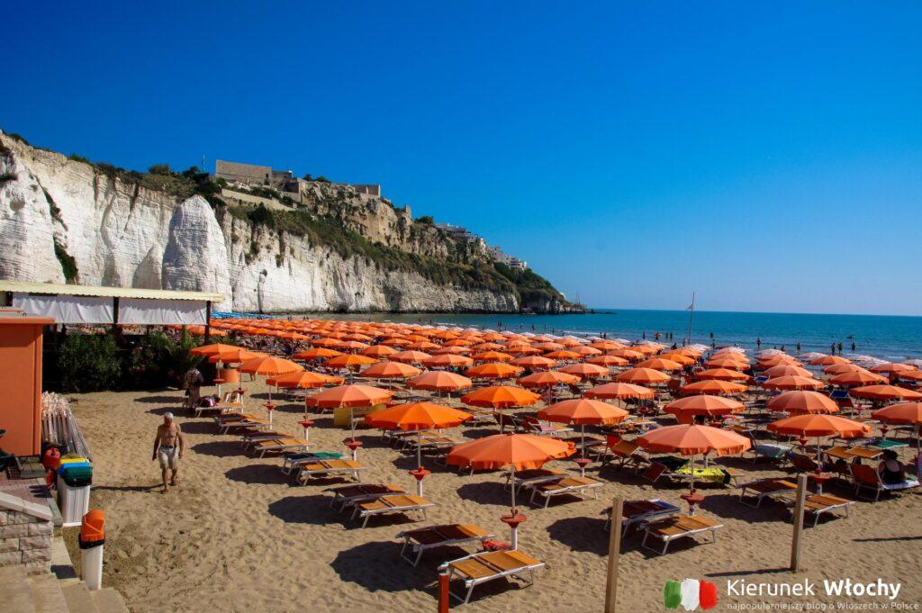 plaża Scialara, Gargano, Włochy (fot. Łukasz Ropczyński, kierunekwlochy.pl)