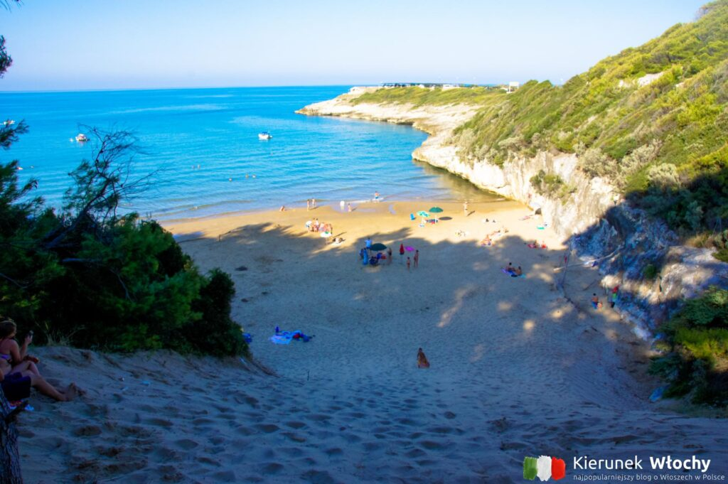 plaża Stretta, Apulia, Włochy (fot. Łukasz Ropczyński, kierunekwlochy.pl)