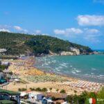 plaża San Felice, Gargano, Włochy (fot. Ł. Ropczyński, kierunekwlochy.pl)