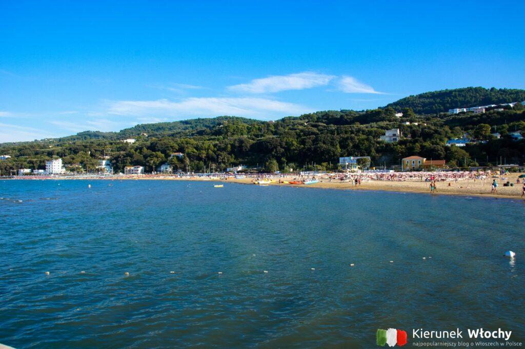 plaża w Rodi, Apulia, Włochy (fot. Łukasz Ropczyński, kierunekwlochy.pl)