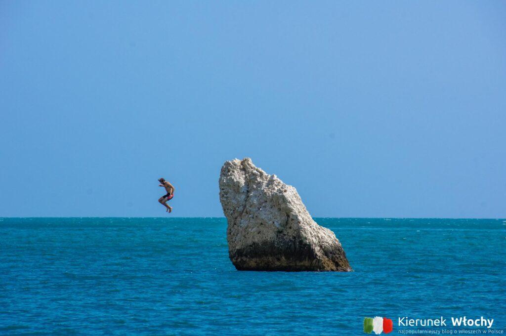 plaża Vignanotica, Apulia, Włochy (fot. Ł. Ropczyński, kierunekwlochy.pl)