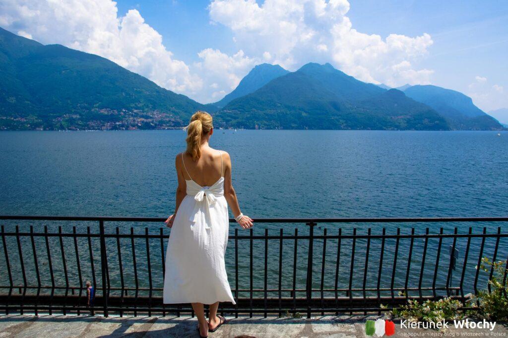 widok z naszego prywatnego ogrodu w apartamencie Interhome, jezioro Como, Włochy (fot. Łukasz Ropczyński, kierunekwlochy.pl)