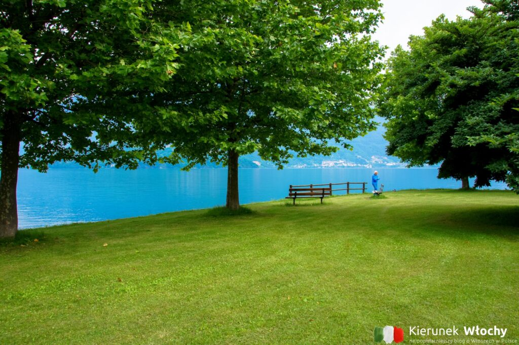 park w Dongo nad jeziorem Como (fot. Łukasz Ropczyński, kierunekwlochy.pl)