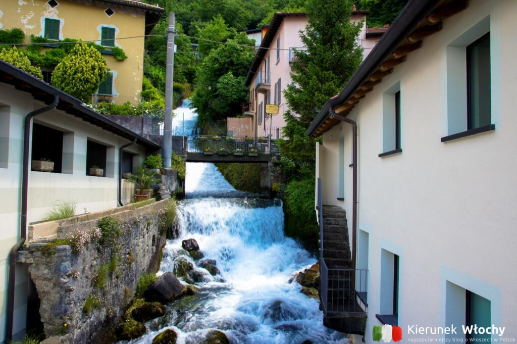 Fiumelatte, jezioro Como, Włochy (fot. Łukasz Ropczyński, kierunekwlochy.pl)