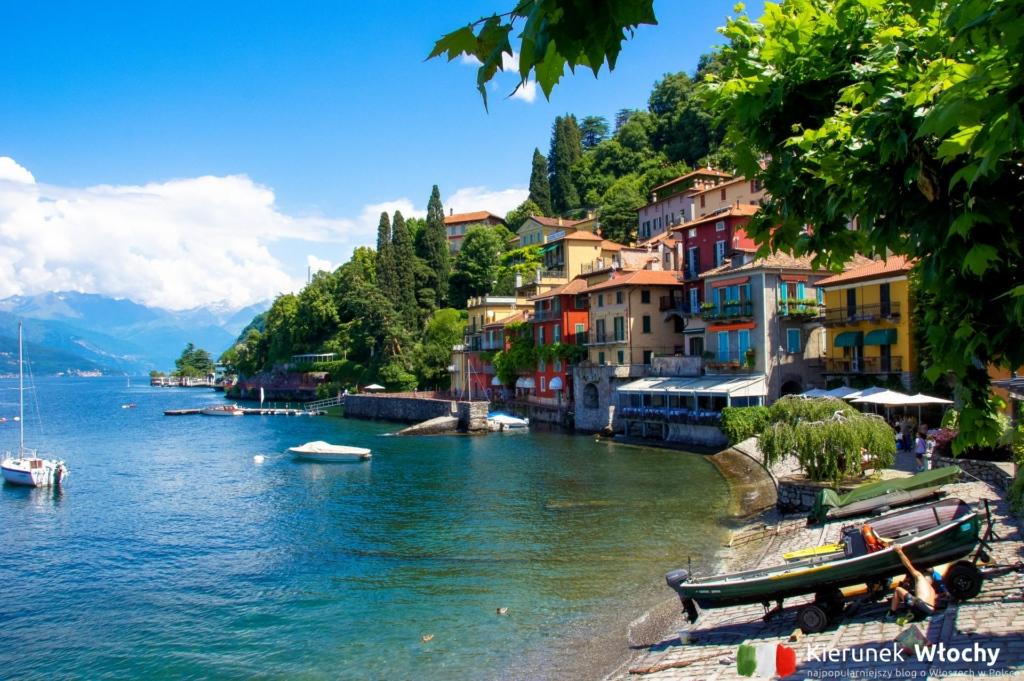 Varenna, jezioro Como, Lombardia, Włochy (fot. Ł. Ropczyński, kierunekwlochy.pl)