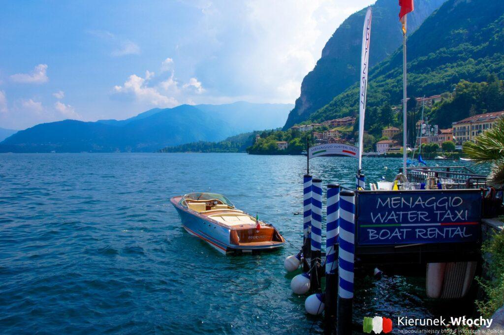 widok na Lago di Como z Menaggio (fot. Łukasz Ropczyński, kierunekwlochy.pl)