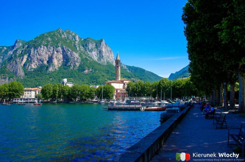 Lecco, jezioro Como, Włochy (fot. Łukasz Ropczyński, kierunekwlochy.pl)
