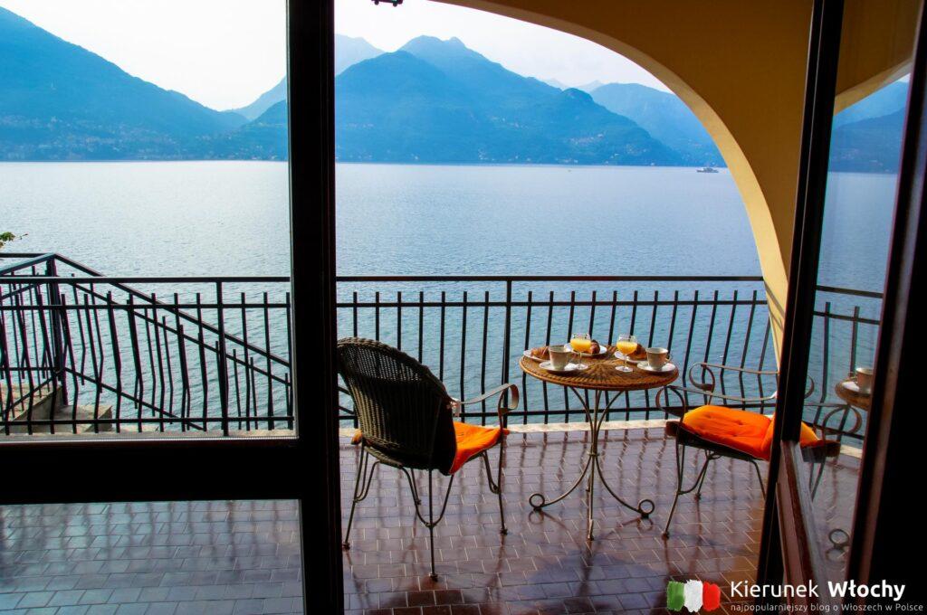 taras w naszym apartamencie Interhome, jezioro Como, Włochy (fot. Łukasz Ropczyński, kierunekwlochy.pl)
