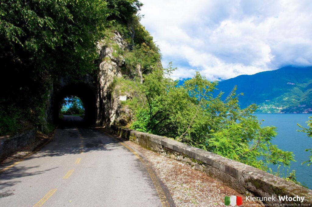 droga dla rowerów nad jeziorem Como (fot. Łukasz Ropczyński, kierunekwlochy.pl)