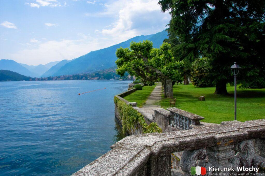 park w Tremezzo nad jeziorem Como (fot. Łukasz Ropczyński, kierunekwlochy.pl)
