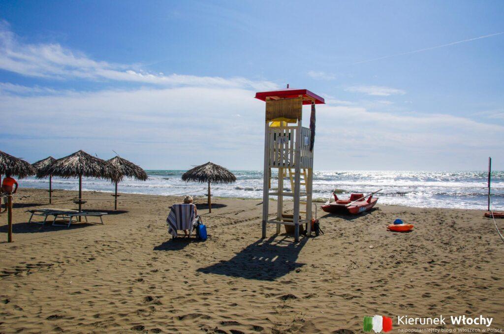 Marina di Grosseto, najpiękniejsze plaże Toskanii (fot. Łukasz Ropczyński, kierunekwlochy.pl)