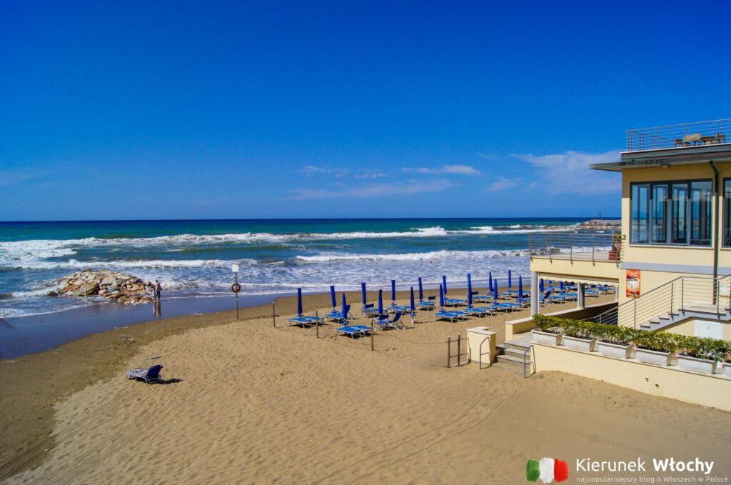 San Vincenzo, najpiękniejsze plaże Toskanii (fot. Łukasz Ropczyński, kierunekwlochy.pl)