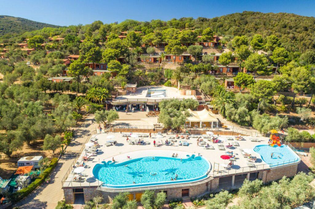 Talamone Camping Village, najpiękniejsze plaże Toskanii