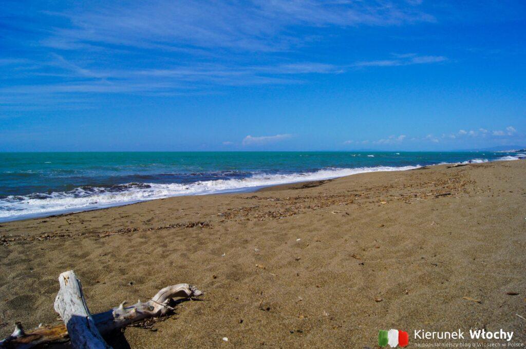 plaża naturystyczna we Włoszech w Parco Naturale Costiero di Rimigliano w Toskanii (fot. Łukasz Ropczyński, kierunekwlochy.pl)