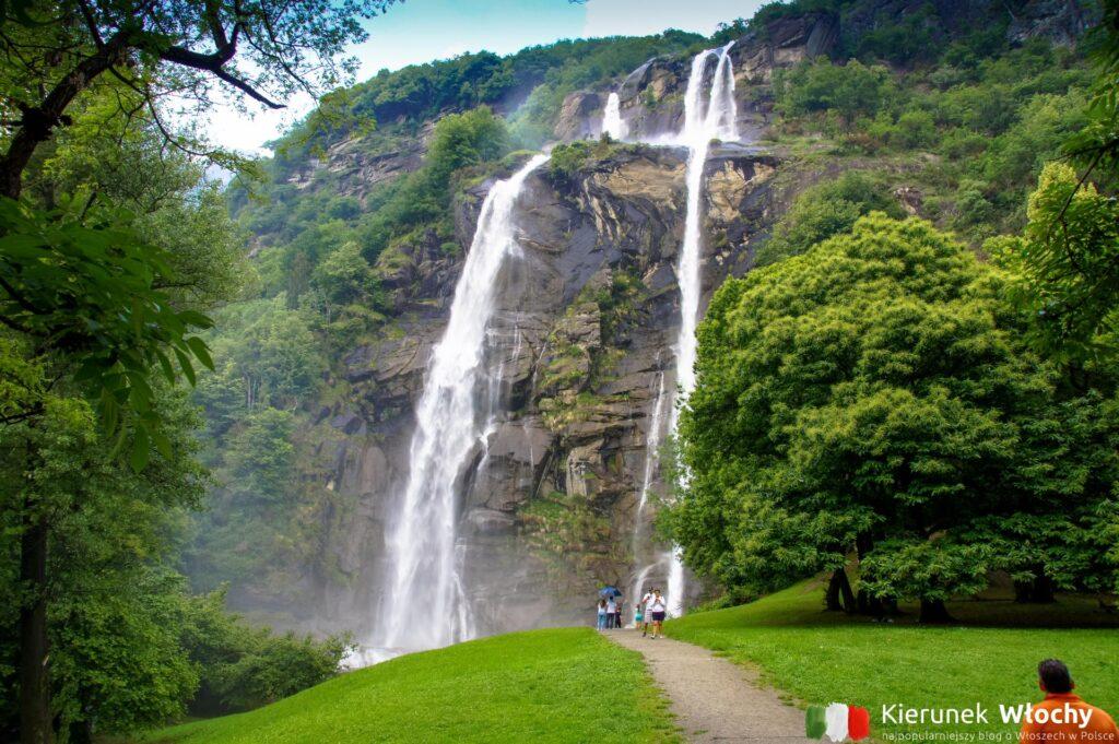 Cascate dell'Acquafraggia, Piuro, Lombardia, Włochy (fot. Łukasz Ropczyński, kierunekwlochy.pl)