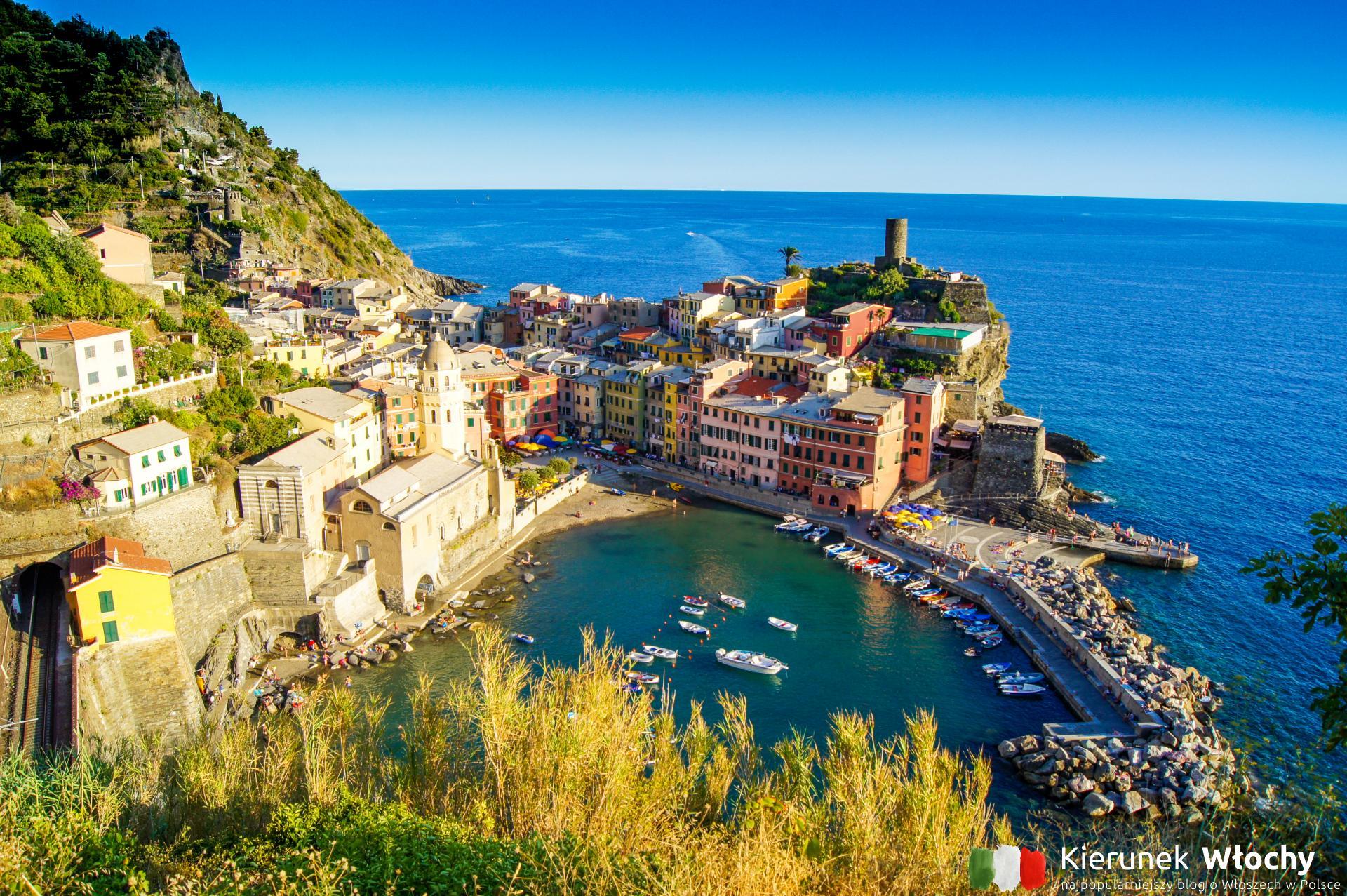 Vernazza, Cinque Terre, Liguria, Włochy (fot. Łukasz Ropczyński, kierunekwlochy.pl)